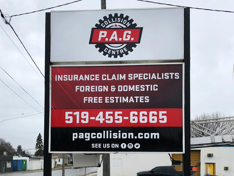 Custom Signs London Ontario